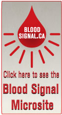 Canadian Blood services Blood Signal